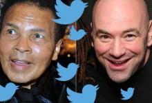 """Muhammad Ali tweetje Dana White-nak: """"Én voltam az első MMA-harcos"""""""
