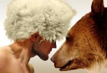 Orosz módi: Khabib Nurmagomedov medvével gyakorol