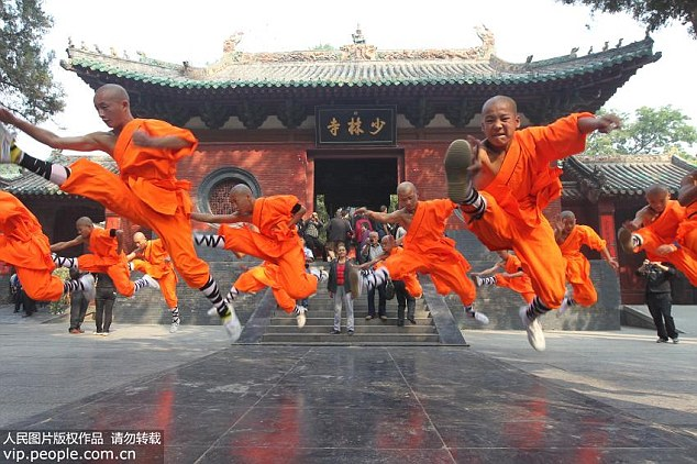 Under Shi Yongxin the Shaolin Temple - the birthplace of Chinese martial arts and Zen Buddhism - has rapidly expanded and now boasts at least 40 affiliated sites around the world Read more: http://www.dailymail.co.uk/news/article-3189479/Woman-posts-pictures-underwear-wore-bed-scandal-hit-celibate-head-monk-Zen-Buddhist-kung-fu-Shaolin-Temple.html#ixzz3iatsTTwa  Follow us: @MailOnline on Twitter | DailyMail on Facebook