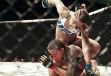 Megvolt a női MMA legelső villantása