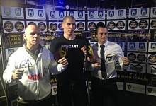 Magyar fighterek az európai MMA porondon