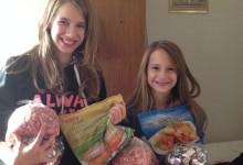 Élelmiszeradományokkal kopogtattunk szeretett családjainknál