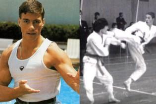 Videó a 19 éves Van Damme kick-box mérkőzéséről