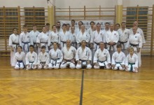 SKI MSZ karate roadshow – Sensei Tanakával!