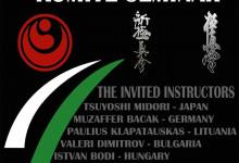 Shinkyokushin EB infromációk – Budapest, november 23-25.