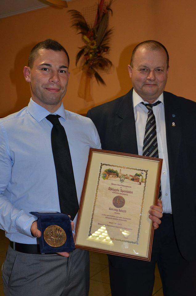 Korcsog László és Gregor László