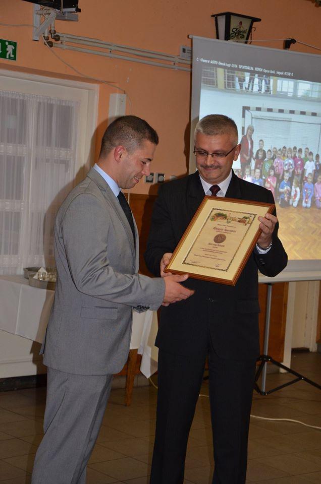 Korcsog László és Szebellédi Zoltán polgármester