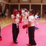 kick-box edzés