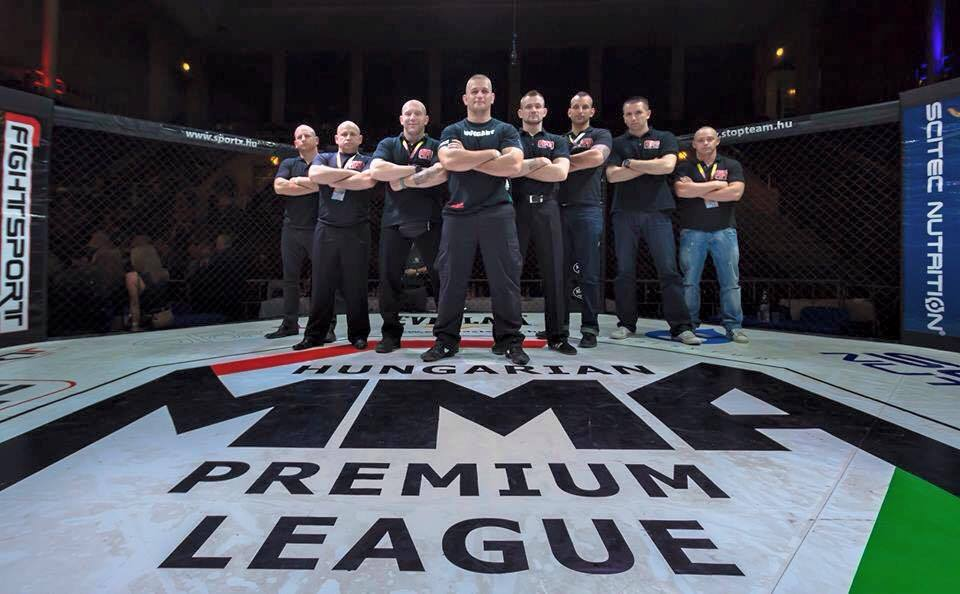 Az MMA Liga bírói