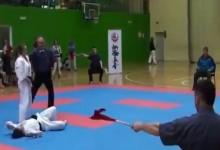 Meg fog lepődni: cigánykerék a karatekiütések új királya