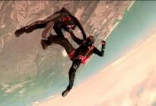 """""""Felhőtlen szórakozás"""" – megérkezett a full-contact ejtőernyőzés!"""