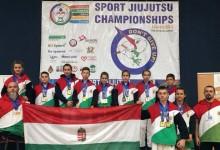 Magyar éremeső a Jiu-Jutsu Európa-bajnokságon