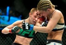 5 brutális menet alatt győzték le az UFC gumikarú üdvöskéjét