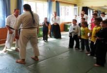Aikido napközi Békéscsabán, ahol mi is szívesen lennénk lelkes kölkök
