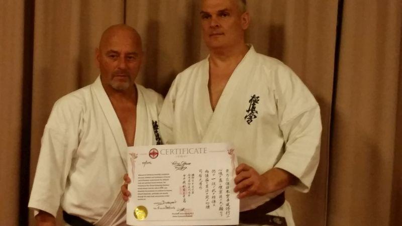 Wátz Gábor (jobbra), és Kaicho Adámy István
