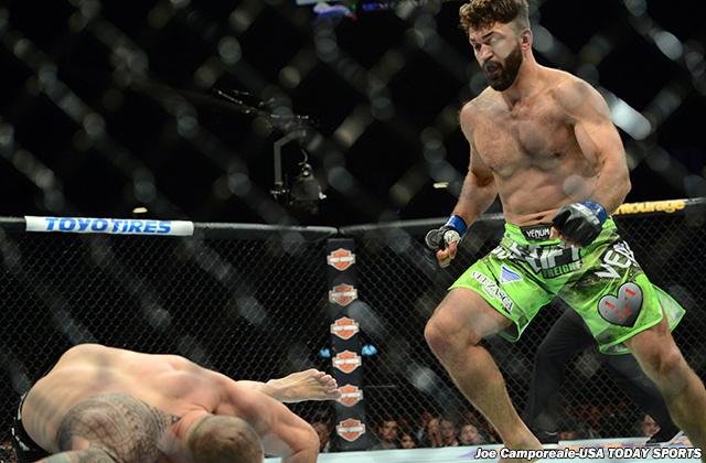 MMA: UFC 187-Browne vs Arlovski