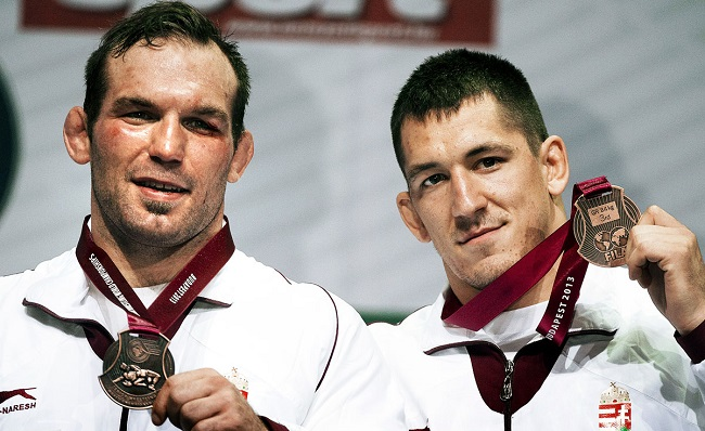 Kiss Balázs és Lőrincz Viktor a budapesti vb-n bronzérmet szereztek