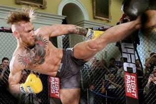 ITF taekwon-dósokkal gyakorol Conor McGregor (videó)