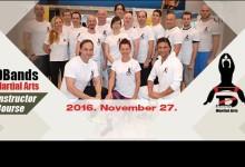 Közkívánatra: újraDBands Martial Arts instruktorképzésnovember 27-én, a BSK Crossfight-ban