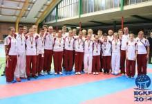 Tizenhét magyar érem a Goju-ryu Európa-bajnokságról