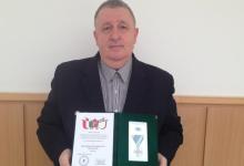 Rangos kitüntetést vehetett át Sensei Kalmár Árpád