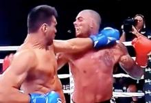 A kudós Kato kick-bokszban is felülmúlta Schillinget, akinek a foga is repült
