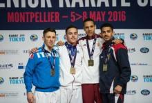 Karate: magyar versenyző a világranglista csúcsán!