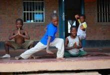 A buddhizmus és a kung-fu segít az afrikai árváknak