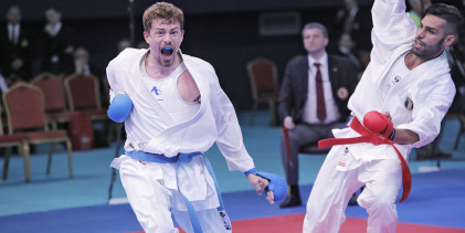 Éremben bíznak a karatésok az Európa Játékokon