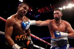 Szó szerint kiütötték a ringből David Haye-t