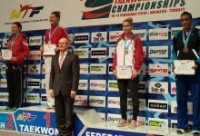 Kotsits Edina bronzérmes Törökországban