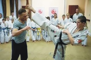 Jean Claude van Damme & kyokushin
