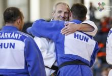 Átütő magyar siker a veterán judo Eb-n!