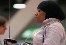 Ő lesz az első hidzsábos olimpikon