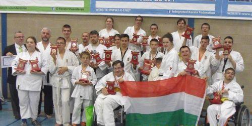 9 aranyérem: a magyarok lettek a legeredményesebbek az I-Karate vb-n  <br>