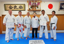 Látogatás Japánban, a karate szentélyében