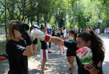 Csopakon edzett a kick-box válogatott