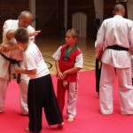 Shihan Gyarmati Imre V.DAN kyokushin karate edzése