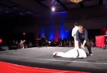 A karatemeccs három másodpercig tartott, de senki sem csodálkozott…