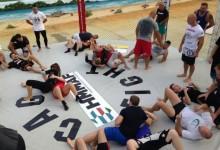 Exkluzív: képek egy véres sport jó hangulatú szegedi edzőtáboráról