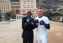 Sztároknak tartott edzést a kick-boxos békenagykövet Mórádi Zsolt