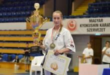 Németh Veronika megszerezte élete 40. aranyérmét