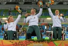 Bronzérmes a kerekesszékes női párbajtőr csapat Rióban