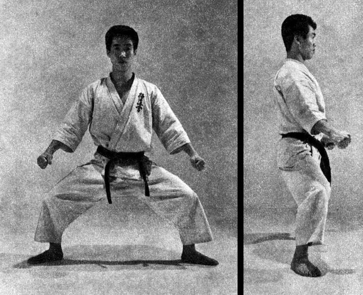 Shiko dachi heikaku (Kyokushin karate)
