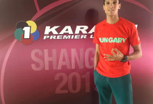 A karatés Tadissi Martial olimpiai kvalifikációs bronzérme