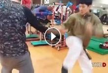 Ha ettől nem kap kedvet a taekwon-dóhoz, akkor semmitől (videó)