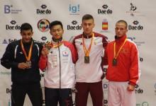Tamás Ferdinánd bronzérmes a korosztályos karate vb-n