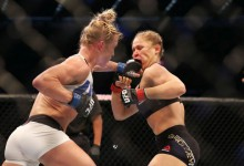 Sokk: kiütötték Ronda Rousey-t