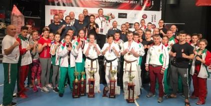 11 magyar érem, különleges magyar rekord a dániai shinkyokushin karate Eb-n