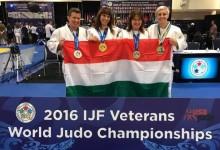 8 magyar érem a 8. IJF veterán világbajnokságon